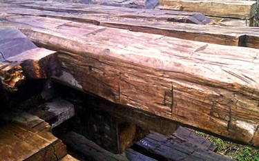 2nd chance wood company green home product source for Reclaimed wood sources
