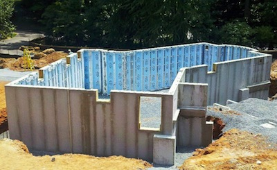 Superior walls foundation systems green home product source for Www superiorwalls com